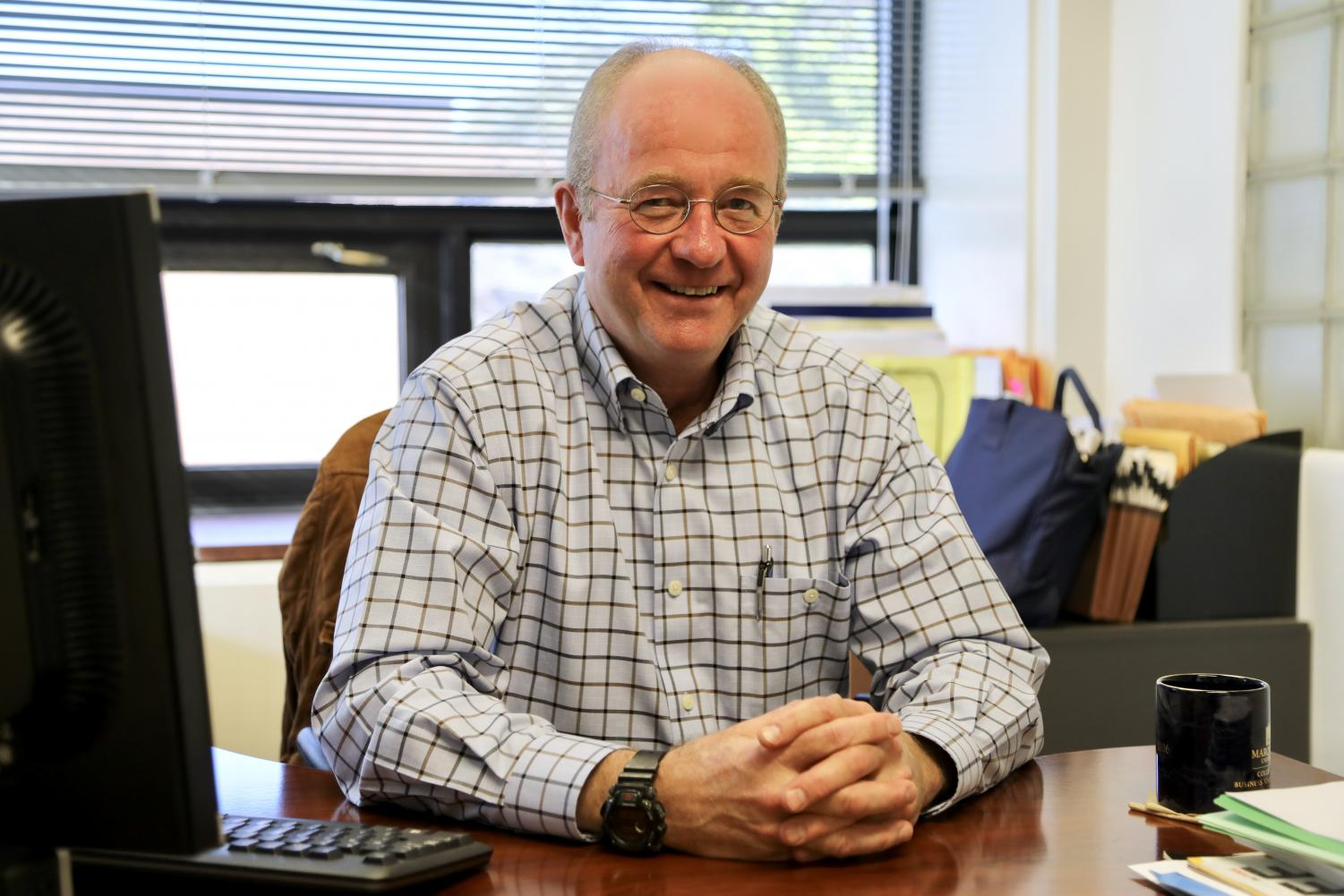Professor Doug Fisher said the new online supply chain masters program aims to provide students with problem-solving skills.