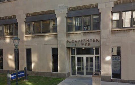 Carpenter Tower floods, building will open for second semester