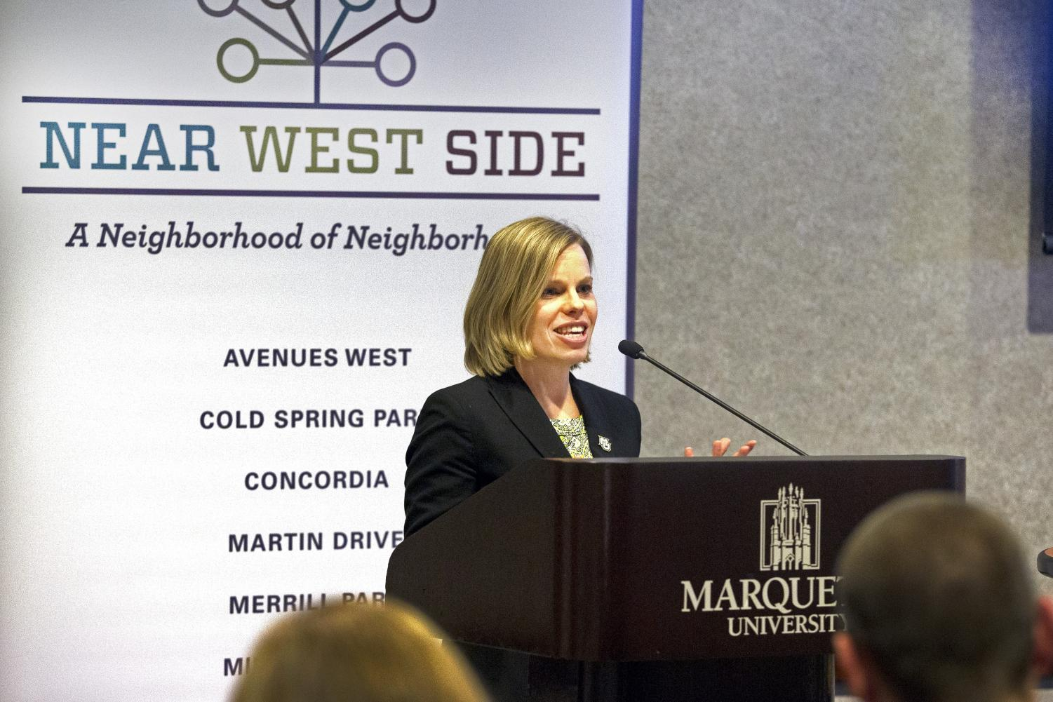 Amber Wichowsky, assistant professor of political science, discusses the Near West Side.