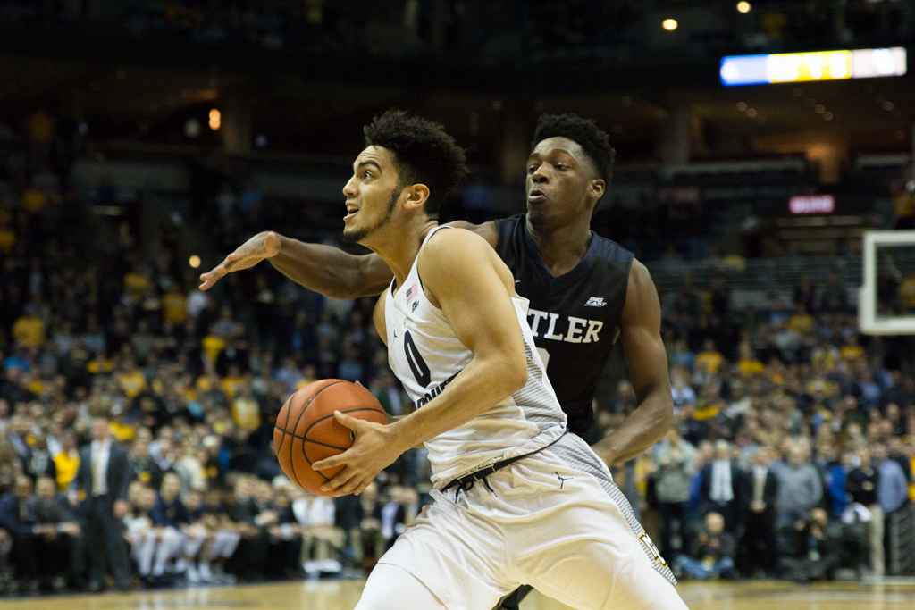 Markus Howard leads the BIG EAST in scoring.