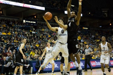 PREVIEW: Butler enters game wary of Marquette's scorers
