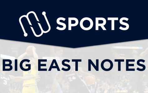 BIG EAST NOTES: Conference season hits halfway point