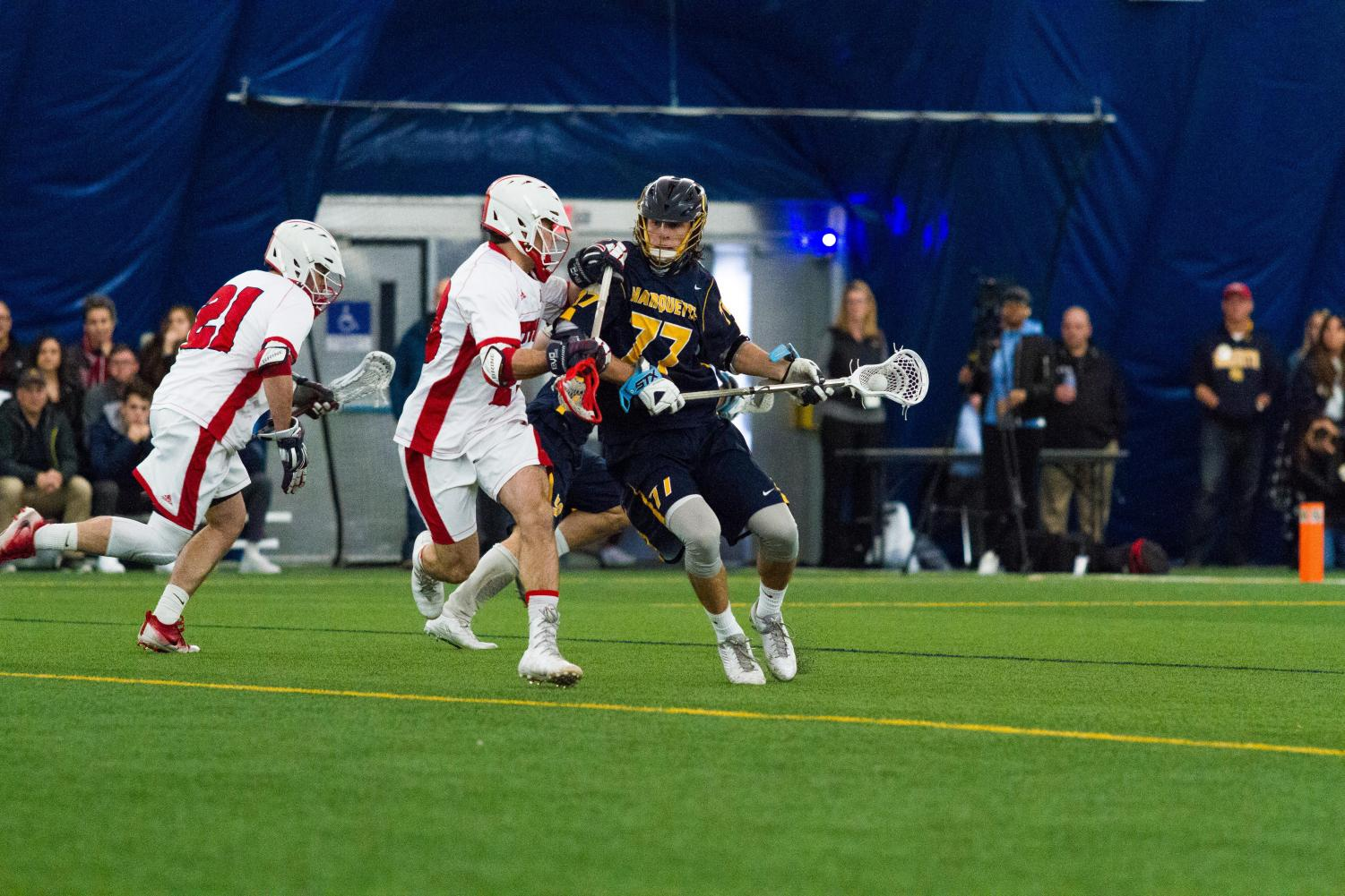 John Wagner, who scored 22 goals last year, will be charged with leading Marquette's offense.