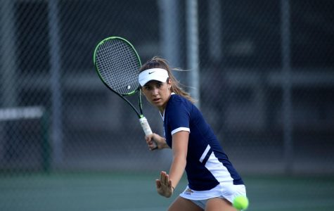 Freshman Popovic develops in top singles, doubles spots