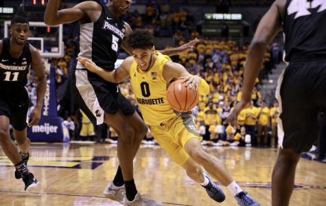 Marquette lost its fourth consecutive game Saturday afternoon, splitting the season series against the Providence Friars. Sophomore guard Markus Howard was limited to just one 3-pointer.