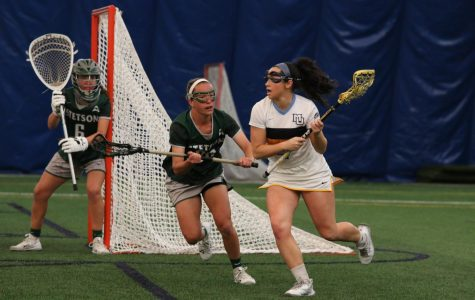 Women's lacrosse remains undefeated at home with win over Stetson