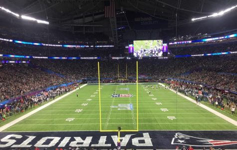 Three students work security for Super Bowl