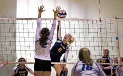 Women's club volleyball hosts tournament, finishes fifth