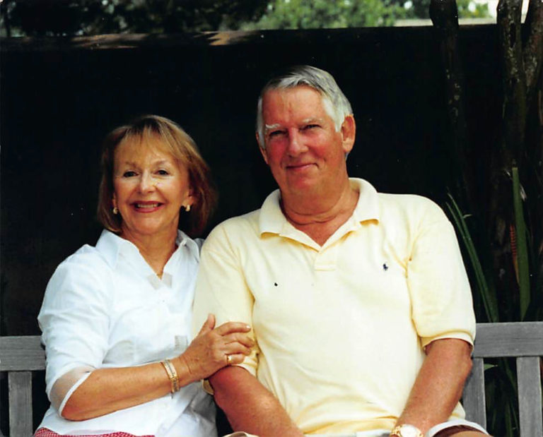Michael Kubly and his wife Billie Kubly gave $5 million to the College of Health Sciences in 2015, which started the Charles E. Kubly Mental Health Research Center. Photo courtesy of the Office of Marketing and Communication.