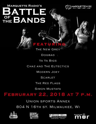 Battle of the Bands comes to the Annex Courts Thursday.