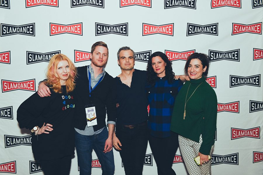 Drew Britton at the Slamdance Film Festival. Photo via: IMDB.com