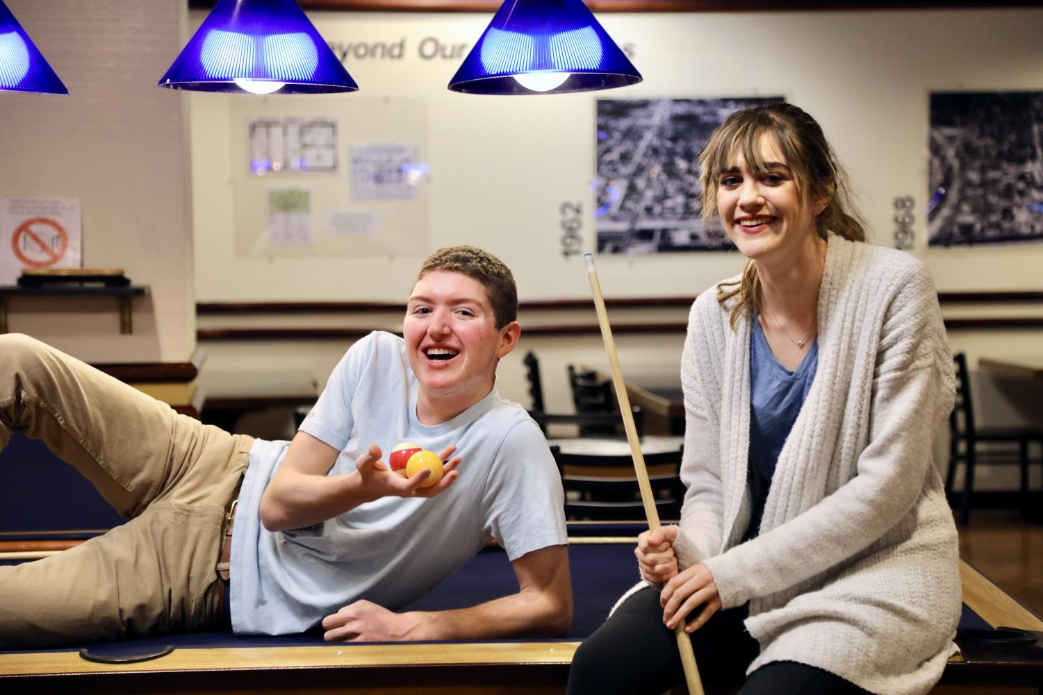 David Klinger and Grace Kilpatrick are the hilarious founders of Marquette's newest stand-up comedy club, Stand-Up Marquette.