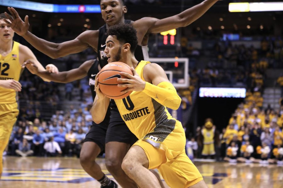 Sophomore guard Markus Howard is doubtful for Marquette's rematch against St. John's Wednesday.