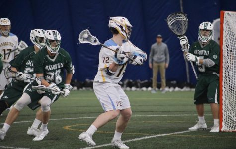 Men's lacrosse freshman attack trio looks to continue hot start to season