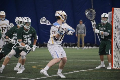 Men's lacrosse to face Notre Dame in NCAA Tournament