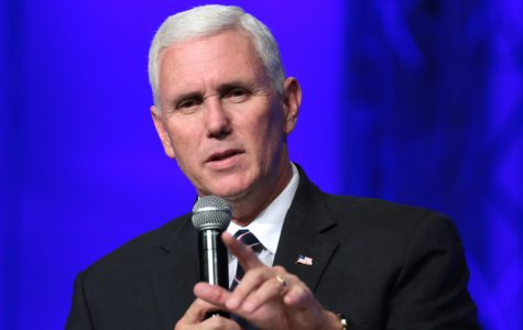 Vice President Mike Pence attended the 2018 Winter Olympics in North Korea.
