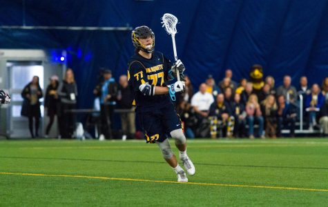Men's lax loses third straight after first-half onslaught in Ann Arbor