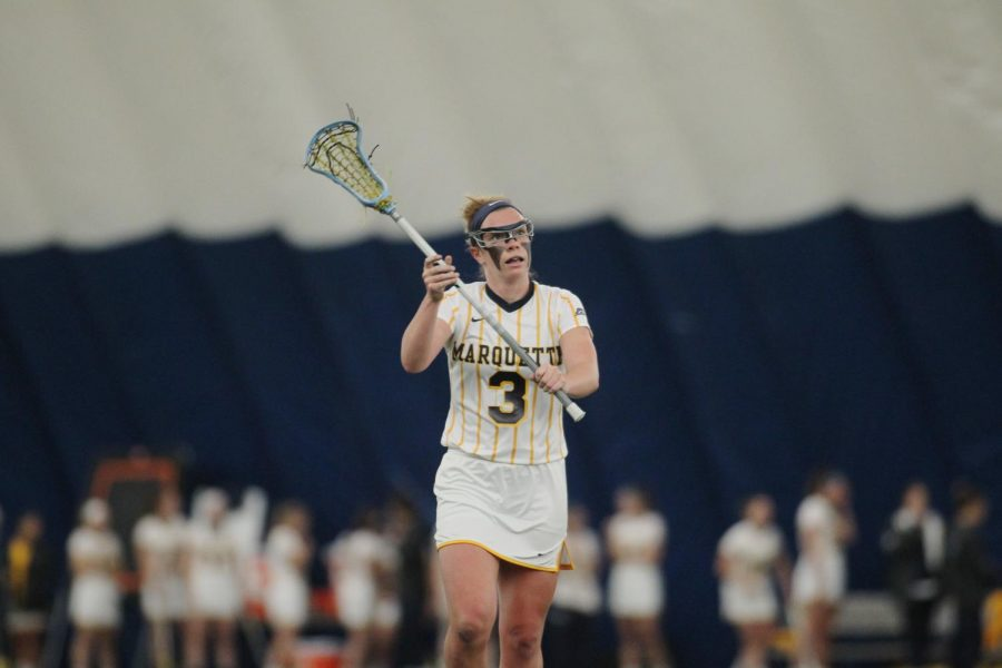 Women's lacrosse moves to 3-0 in the BIG EAST over Temple