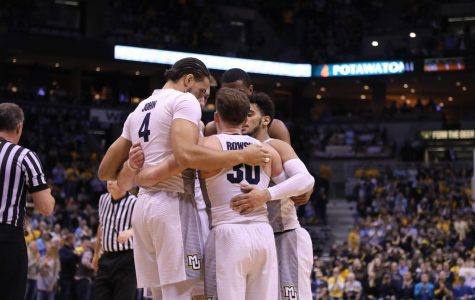 FLOOR SLAPS: Second half defense propels Golden Eagles offense