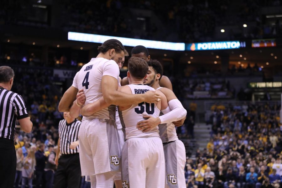 Marquette defeated Creighton in the final game at the BMO Harris Bradley Center.