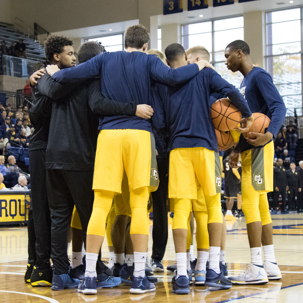Eight of nine scholarship players that received minutes for Marquette in conference play are slated to return to next year's team.