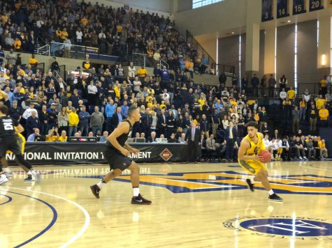 FLOOR SLAPS: Sophomores steal the show to defeat Vermont