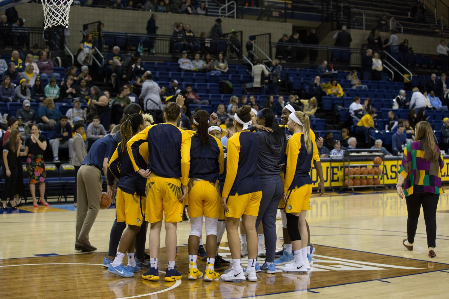 Marquette's starting lineup is comprised entirely of juniors.