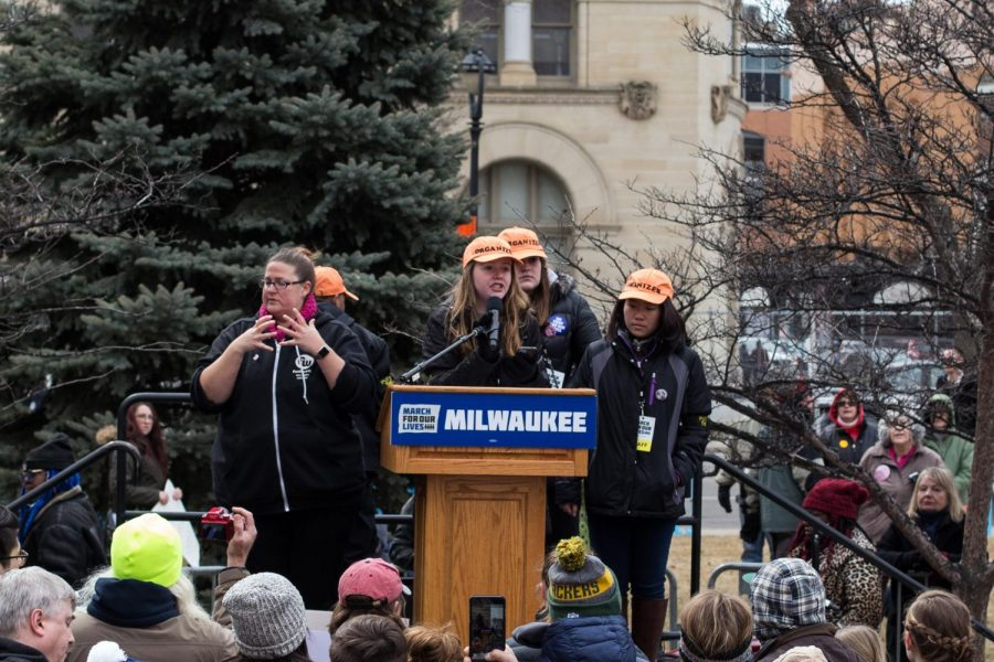 Milwaukee+marches+for+students+lives
