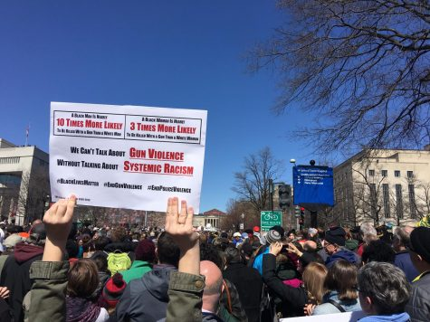 About 800,000 people attended March For Our Lives in Washington, D.C. to advocate for gun control, including some Marquette students.