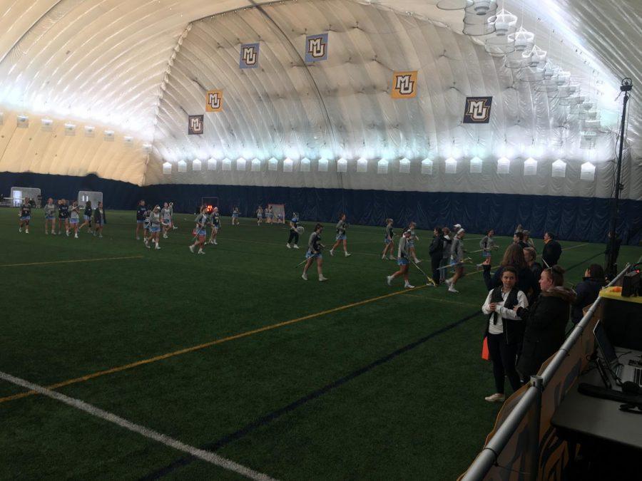 Women's lacrosse wins BIG EAST opener against Cincinnati