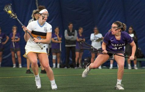 Lane and Gabriel deliver draw controls for women's lacrosse