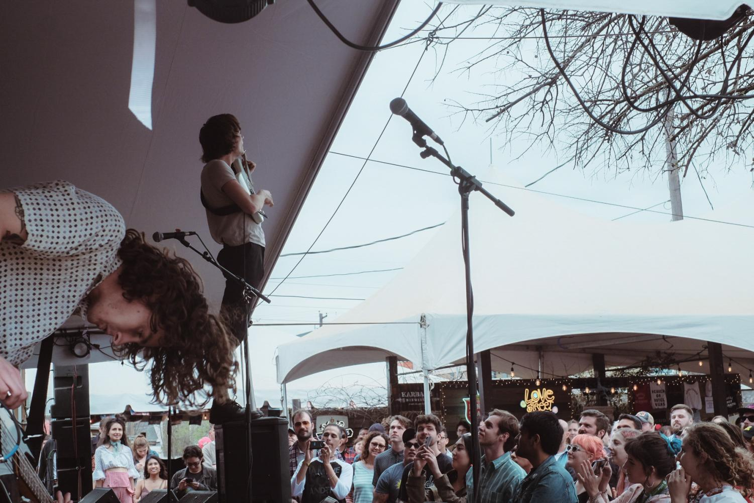 Vundabar performing a show at South By Southwest 2018