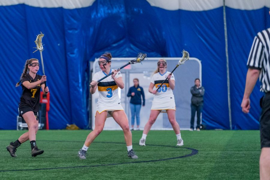 Late run not enough for women's lacrosse against No. 17 Notre Dame