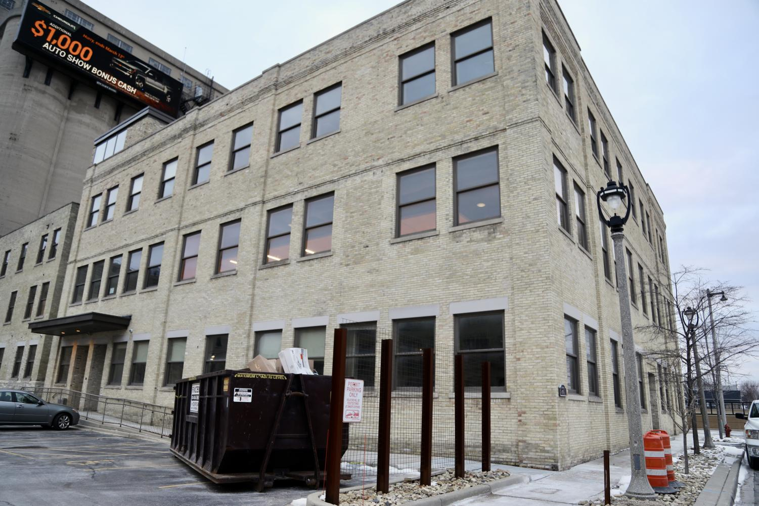 The three-story facility, called No Studios, is located at 1037 W. McKinley Avenue. The space will house local film organizations, companies and university programs such as Marquette's Diederich College of Communication.