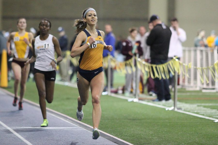 Brittney Feivor used up the last of her eligibility at Marquette last season, but is not done with distance running yet, as she qualified for the 2020 U.S. Olympic Trials