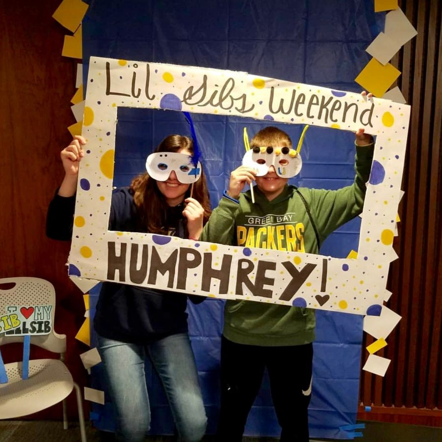 Little siblings weekend allowed students a chance to show family members what life is like on campus.