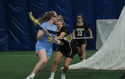 Women's lacrosse falls at home for the first time this season