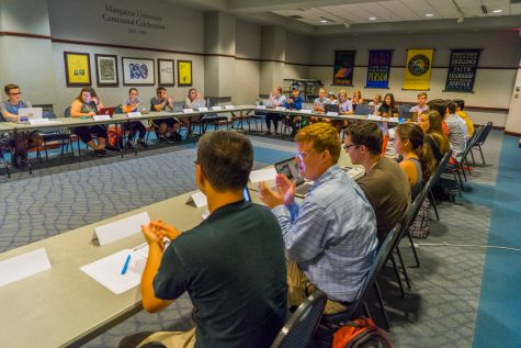 Dean search committee gets down to business