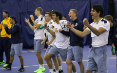 Men's tennis wins the BIG EAST championship