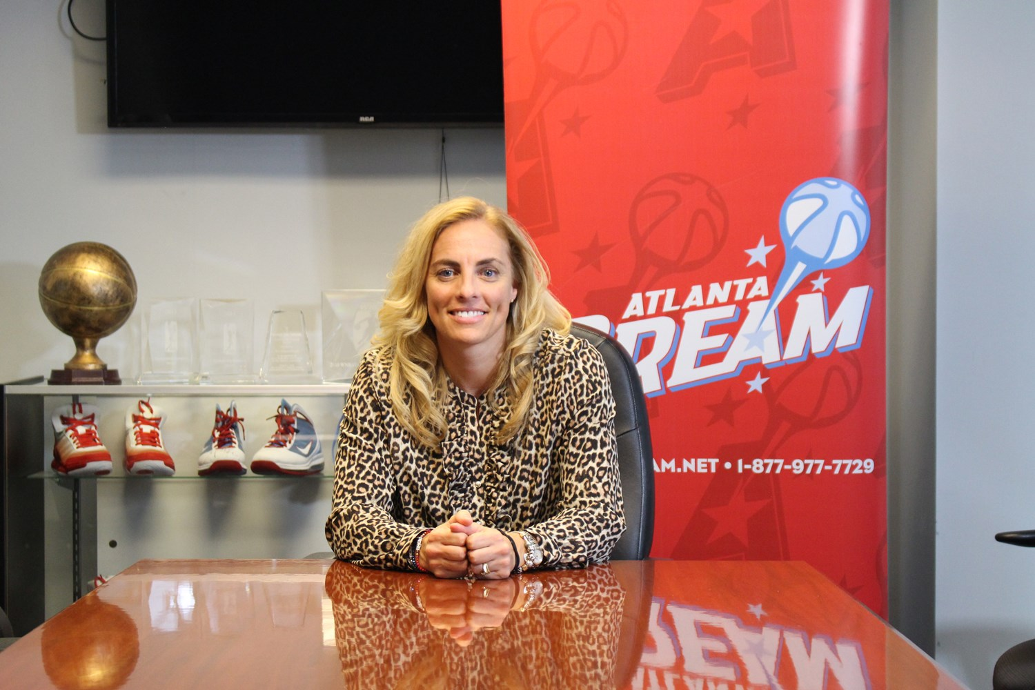 Marquette basketball alumna Nicki Collen is preparing to take over the WNBA's Atlanta Dream. (Photo courtesy of Atlanta Dream.)