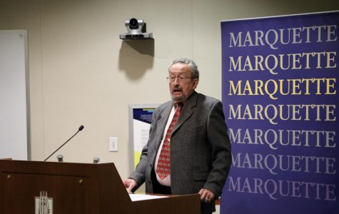 A visiting professor was recently hosted by the Marquette political science department, delivering a speech and visiting classes.
