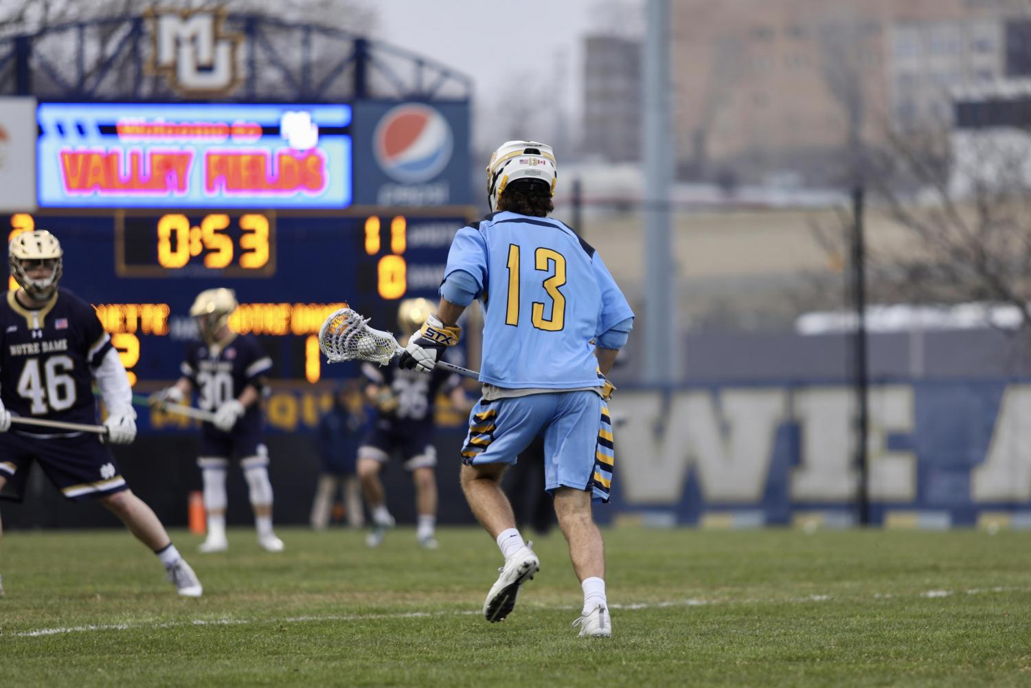 Connor McClelland is second on the team with 14 goals.