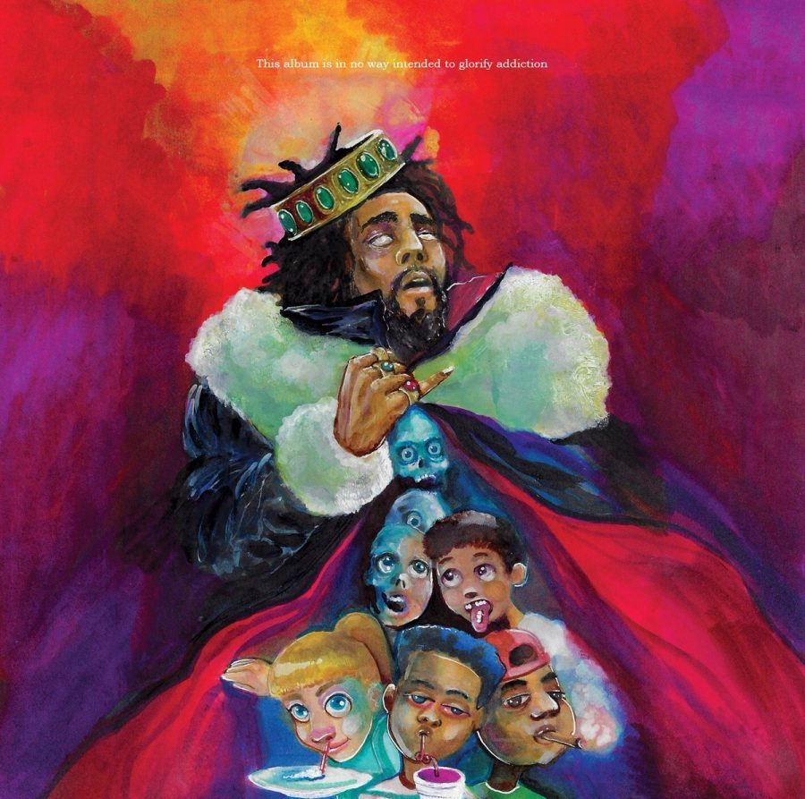 J.+Cole+releases+%27KOD%2C%27+the+music+world+goes+crazy