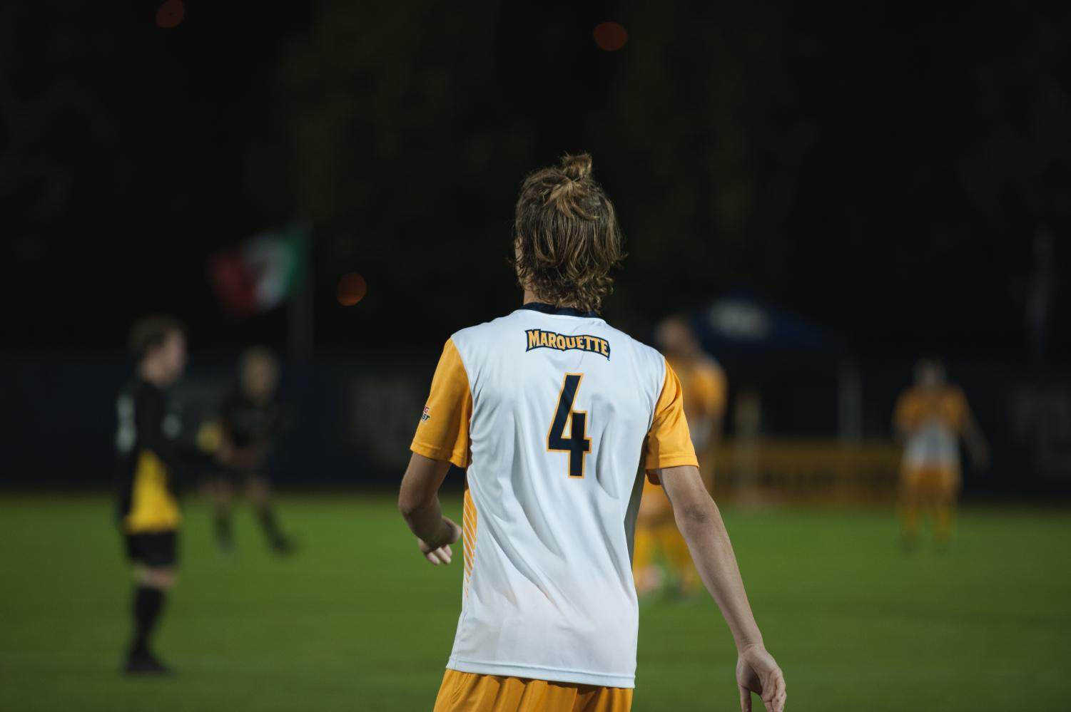 Attacker Toby Howell transferred from Marquette University to Brown at the end of the 2016 season. (Wire Stock Photo)