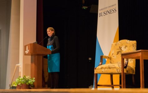 Alumna speaks at new 'Women in Business' series
