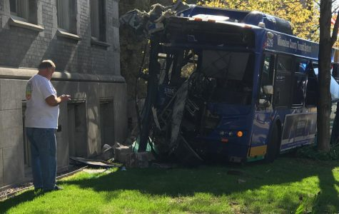 Milwaukee County Transit System announced today that they have finished their investigation into the bus crash that occurred May 15 on the intersection of Wisconsin Ave. and 12th St. that resulted in damage to Johnston Hall.