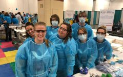 Dentistry students help provide $1 million in services to those in need at Mission of Mercy event