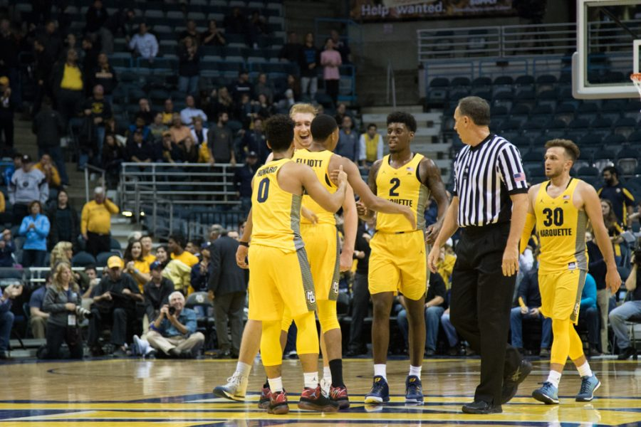 Marquette+will+play+four+NCAA+Tournament+teams+in+its+2018-%2719+non-conference+schedule.