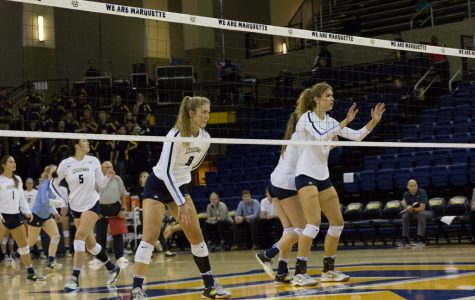 Volleyball downs Kansas State in straight sets
