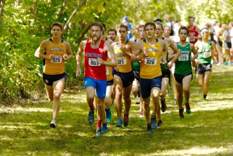 Marquette cross-country starts season at Badger Opener